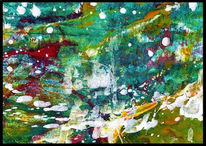 Malerei, Flucht