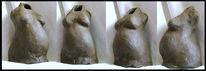 Ton, Frau, Figur, Skulptur