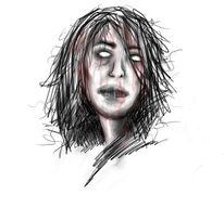 Traum, Grafik, Müde, Horror