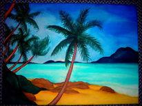 Strand, Landschaft, Sand, Meer