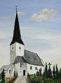 Acrylmalerei, Religion, Kirche, Glaube
