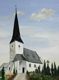 Realismus, Maifeld, Acrylmalerei, Religion