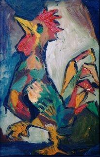 Malerei, Hahn