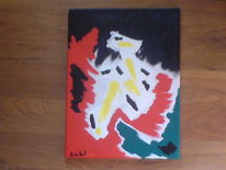 Malerei, Emotion, Abstrakt
