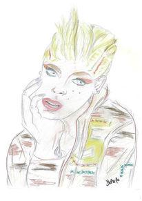 Zeichnung, Pink, Zeichnungen