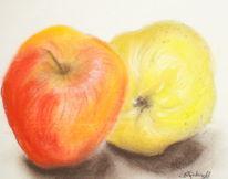 Zeichnungen, Stillleben, Obst