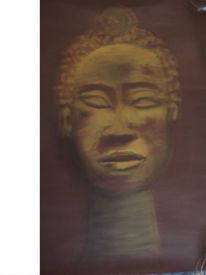Afrika, Acrylmalerei, Malerei, Figural