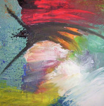 Menschen, Malerei, Rot schwarz, Gelb
