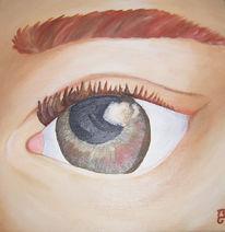 Menschen, Haut, Malerei, Augen