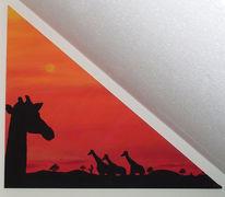 Tiere, Landschaft, Afrika, Rot