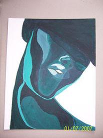 Malerei, Frau, Menschen