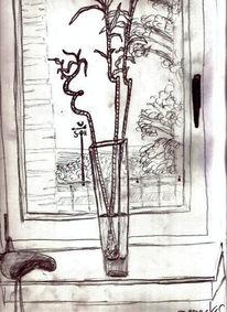 Stillleben, Zeichnung, Zeichnungen