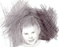 Zeichnungen, Portrait, Junge