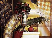 Acrylmalerei, Realismus, Malerei, Stillleben