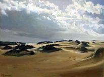 Landschaft, Malerei, Sylt,