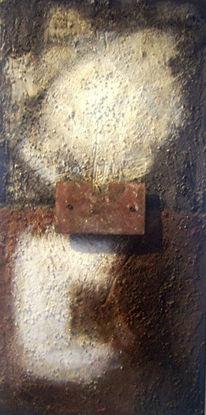 Braun, Abstrakt, Schwarz weiß, Installation