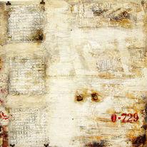 Verwittert, Vergänglichkeit, Braun, Abstrakt malerei