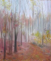Jahreszeiten, Malerei, Herbst, Landschaft