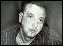 Menschen, Zeichnung, Schwarz weiß, Portrait