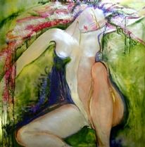 Abstrakt, Erotik, Akt, Malerei