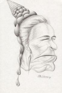 Kopf, Zeichnung, Menschen, Portrait