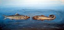 Unterwasserwelt, Malerei, Meerestiere, Figural