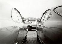 Auto, Schwarz weiß, Oldtimer, Fotografie