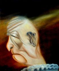 Figural, Ölmalerei, Karikatur, Malerei