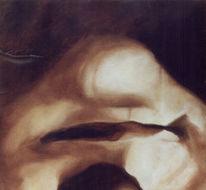 Ölmalerei, Lächeln, Malerei, Figural