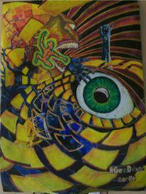 Aufregung, Malerei, Surreal, Stimmung