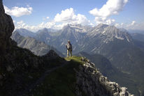 Berge, Alpen, Pinnwand, Bergen