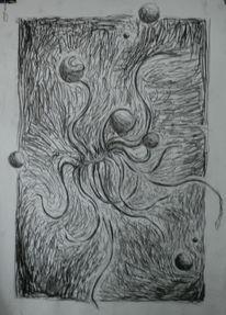 Zeichnungen, Surreal, Loch