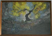 Malerei, Surreal, Sieg, Natur