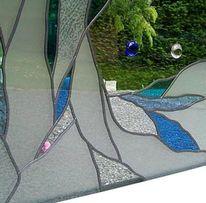 Fenster, Blumen, Glasdesign, Design