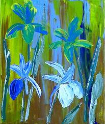 Blumen, Malerei, Acrylmalerei, Natur