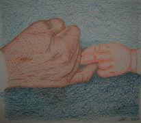 Figural, Anatomie, Hände, Malerei