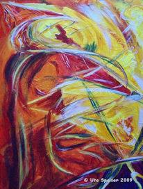 Farben, Fantasie, Acrylmalerei, Malerei
