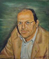 Ölmalerei, Gemälde, Portrait, Malerei