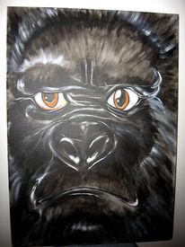 Figural, Malerei, Gorilla, Tiere
