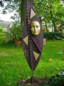 Skulptur, Schrott, Plastik