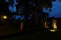 Garten, Nacht, Pinnwand