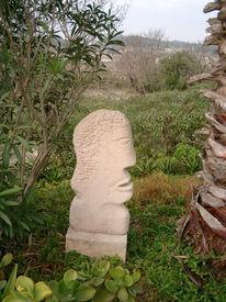 Skulptur, Kopf, Plastik