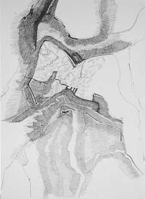 Vogel, Frei, Baum, Zeichnungen