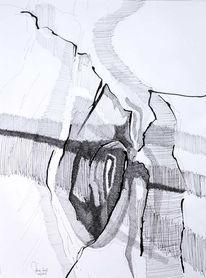 Abstrakt, Laster, Zeichnung, Todsünden