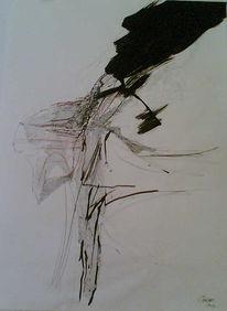 Twister, Zeichnung, Gegenstandslos, Wirbelwind