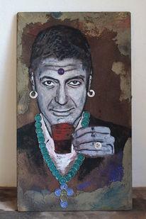 Zeitgenössisch, Zeitgenössische kunst, Kunst aus kaffeekapseln, Kapselkunst