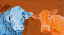 Kuh, Freiwerk, Bulle, Milan art