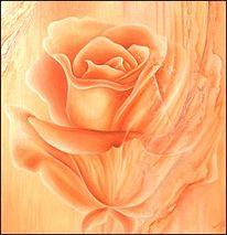 Ruhe, Stillleben, Blumen, Malerei