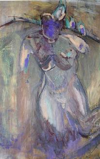 Hang, Akt, Abstrakt, Malerei