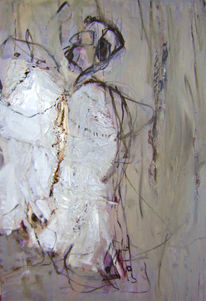 Herakles, Nessos, Malerei, Abstrakt